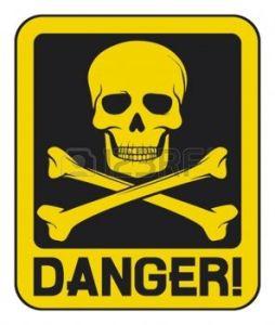 16081595-signe-de-danger-cr-ne-signe-de-danger-mortel